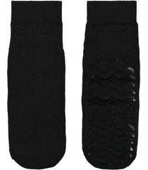 calzedonia non-slip short socks man black size tu