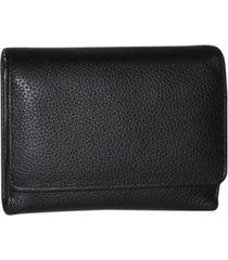 buxton women's mini chelsea rfid multi organizer wallet