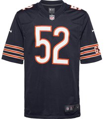 chicago bears nike game team colour jersey - player t-shirts short-sleeved blå nike fan gear