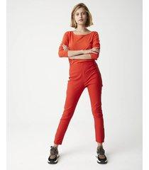 pantalón rojo system harry