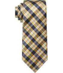 tommy hilfiger men's classic plaid tie