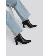 mango bell ankle boots - black