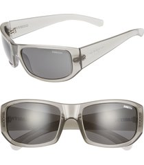 women's smith bauhaus 59mm chromapop(tm) polarized wraparound sunglasses -