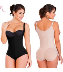 fajas colombianas salome 0417 women's body shaper panty levanta cola