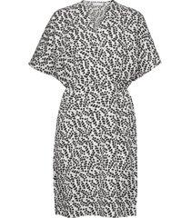 caesia cross dress kort klänning multi/mönstrad storm & marie