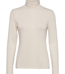 fitted lightweight turtleneck t-shirt t-shirts & tops long-sleeved creme banana republic