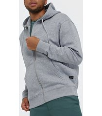 jack & jones jjesoft sweat zip hood noos tröjor ljus grå