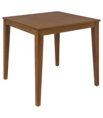 mesa quadrada tramontina 14067/170 london madeira amêndoa