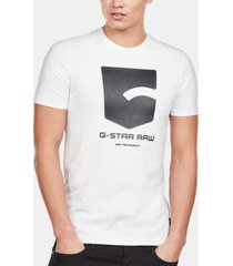 g-star raw men's logo graphic t-shirt, created for macy's