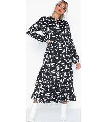 pieces pcmarine ls ankle dress d2d loose fit dresses