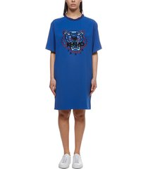 kenzo embroidered tiger dress