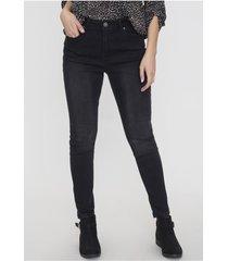 jeans skinny 1 boton negro  corona