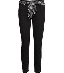 jeans slimmade jeans svart marc o'polo