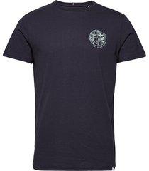 asissi t-shirt t-shirts short-sleeved blå les deux