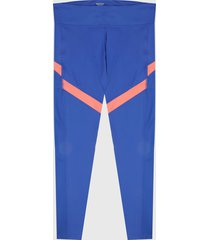 leggings azul-salmón reebok workout ready