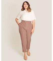 pantalon mujer clasico rayas
