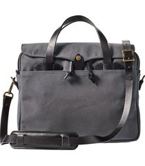 men's filson original briefcase - grey