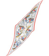 inc sailing ships kite scarf, created for macy's