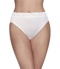 vanity fair women's flattering lace hi-cut panty underwear 13280, extended sizes available
