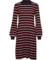 jaqueline knit dress knälång klänning multi/mönstrad morris lady