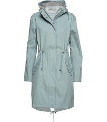 raincoat parka rock jacka blå ilse jacobsen