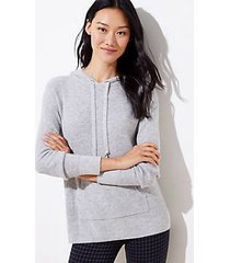 loft petite hoodie sweater
