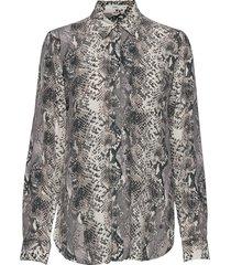 victoria overhemd met lange mouwen multi/patroon brax