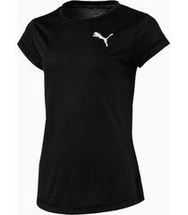 active t-shirt, zwart/aucun, maat 128 | puma
