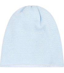 little bear light blue hat for babyboy