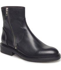 boots 813102 shoes boots ankle boots ankle boots flat heel svart billi bi