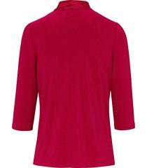 shirt met v-hals van uta raasch rood