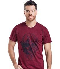 camiseta adulto masculino vinotinto marketing  personal