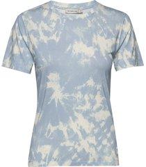 skyli t-shirts & tops short-sleeved blå tiger of sweden jeans