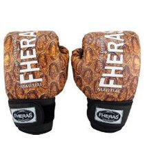 luva boxe muay thai fheras new top cobra ll 14 oz .