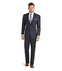 executive collection traditional fit men's suit with pleated front pants clearance by jos. a. bank