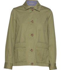 d2. shirt jacket zomerjas dunne jas groen gant
