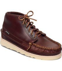 seneca mid båtskor skor brun sebago