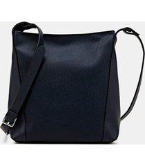 bolso bandolera azul marino esprit