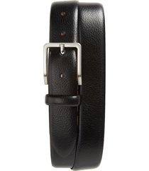 men's johnston & murphy leather belt