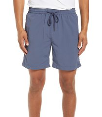 men's madewell everywear shorts, size x-small - blue