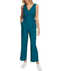 1.state belted surplice jumpsuit