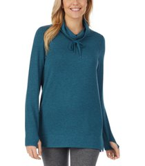 cuddl duds ultra cozy long-sleeve cowlneck tunic