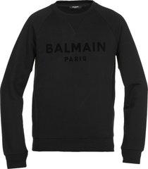 balmain loged sweatshirt