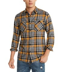 american rag men's alex plaid shirt