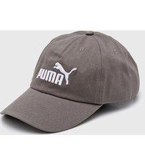 gorra gris puma no 1 puma ess