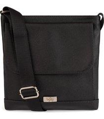 bolsa tiracolo cor preto marca lefity modelo van - kanui