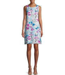 florencia floral shift dress