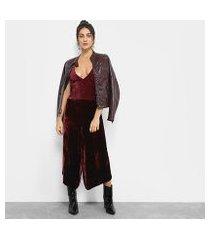 macacão longo cantão velvet boutique feminino