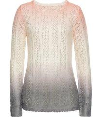 maglione traforato (fucsia) - bodyflirt