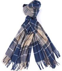 barbour hailes tartan scarf